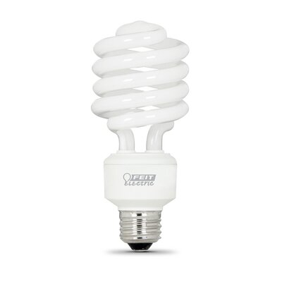 Frosted E26/Medium Compact Fluorescent Light Bulb Bulb Temperature: 2700K