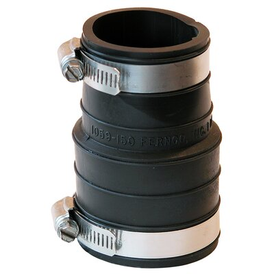 Flexible Socket Coupling Repair Fitting Size: 1.5 x 1.5