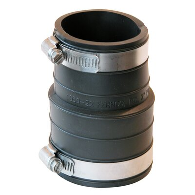 Flexible Coupling Repair Fitting Size: 2 x 2