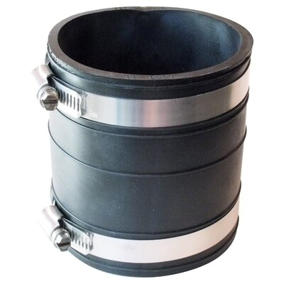 Flexible Socket Coupling Repair Fitting Size: 3 x 3
