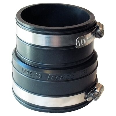 Flexible Coupling Repair Fitting Size: 3 x 3