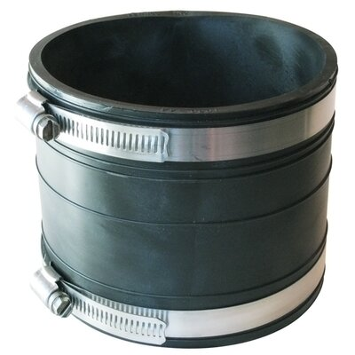 Flexible Socket Coupling Repair Fitting Size: 4 x 4