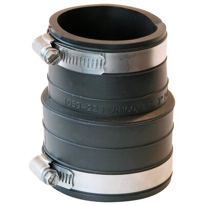Flexible Coupling Repair Fitting Size: 4 x 4