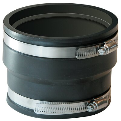 Coupling For Corrugated Pipe Size: 3 x 3