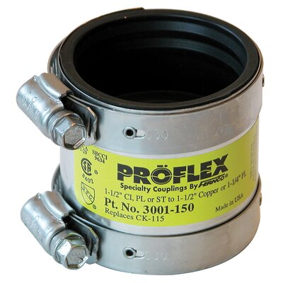 Proflex� Reducing Coupling Size: 1.5 x 1.5