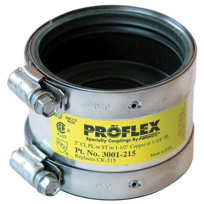 Proflex� Reducing Coupling Size: 2 x 1.5