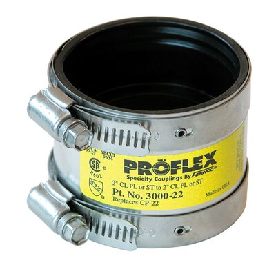 Proflex Shielded Specialty Coupling Size: 2