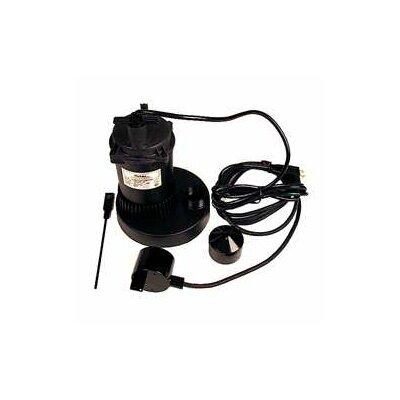 1/3 HP Plastic Sump Pump