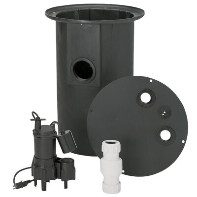 0.4 HP Sewer Pump System