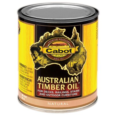 CabotStain 1 Quart Natural Australian Timber Oil For Decks & Outdoor Furnitu at Sears.com