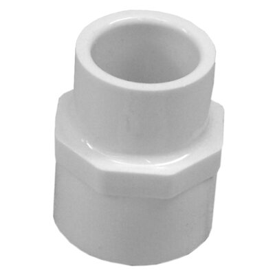 1/2 x 3/4 PVC Reducing Female Adapter
