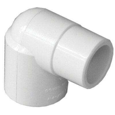 PVC 90 Street Elbow (Set of 10) Size: 0.75