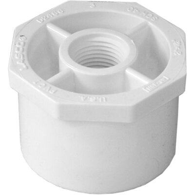 Reducing Bushing Size: 2 x 0.5