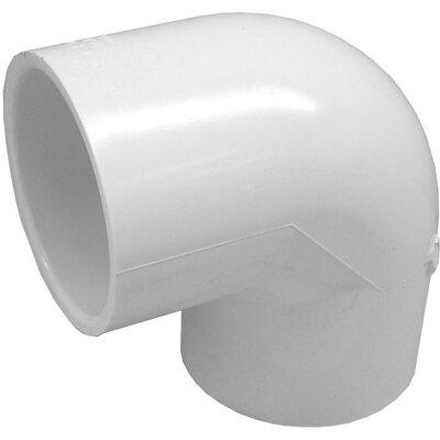 PVC 90 Elbow Size: 0.75