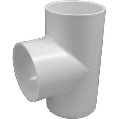 PVC Tee Size: 0.75