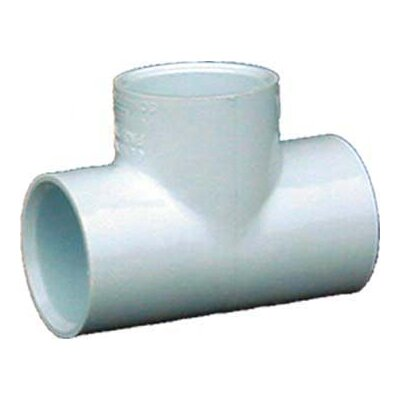 PVC Sch. 40 Tee Slips (Set of 10) Size: 0.75