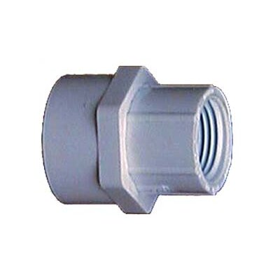 3/4 x 1/2 PVC Sch. 40 Reducing Female Adapter (Set of 10)