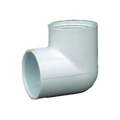 PVC Sch. 40 90 Female Elbows (Set of 10) Size: 0.75