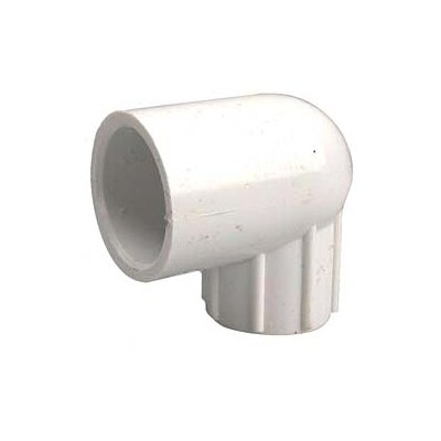 PVC Sch. 40 90 Reducing Female Elbows Size: 1 x 0.5