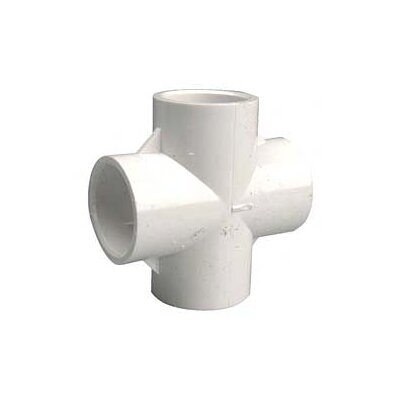 PVC Sch. 40 Crosses Size: 0.75