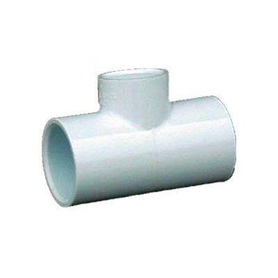 PVC Sch. 40 Reducing Tees Size: 1.25 x 1.25 x 0.75