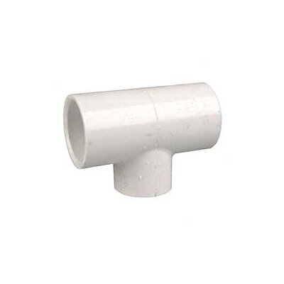 PVC Sch. 40 Reducing Tees Size: 1.5 x 1.5 x 1