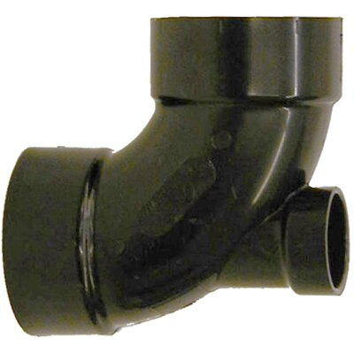 ABS 90 Elbow with Lowheel Inlet