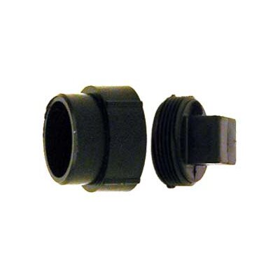 ABS-DWV Fitting Clean-Outs with Threaded Plug Size: 2