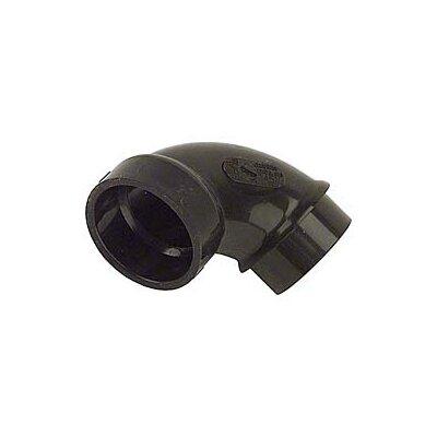 ABS-DWV 90 Street Sanitary Elbows Size: 3