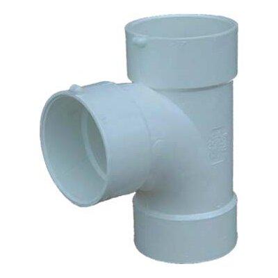 Styrene Sanitary Tees Size: 4