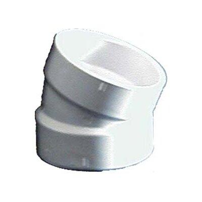 Sch. 40 PVC-DWV Elbows Size: 4