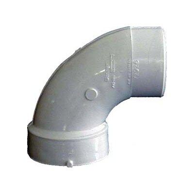 Sch. 40 PVC-DWV 90 Sanitary Elbows Size: 2