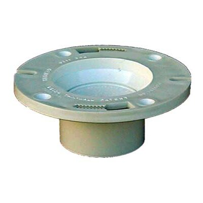 4 x 3 Sch. 40 PVC-DWV Pop Top Closet Flange