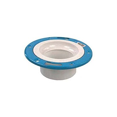 40 PVC-DWV Closet Flange with Adjustable Ring