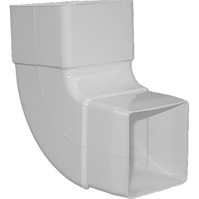 90 Downspout Elbow Color: White