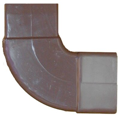90 Downspout Elbow Color: Brown