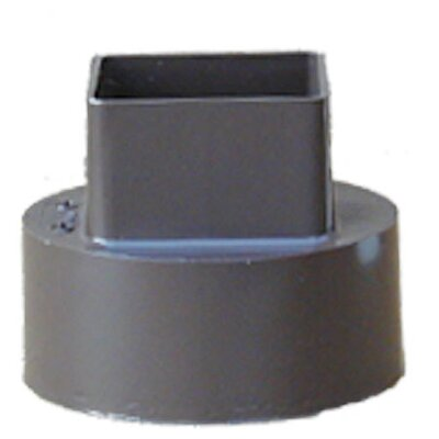Downspout Adapter Color: Brown
