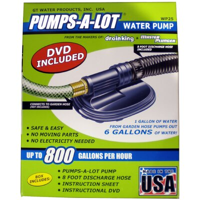 Pumps-a-Lot Water Pump Kit