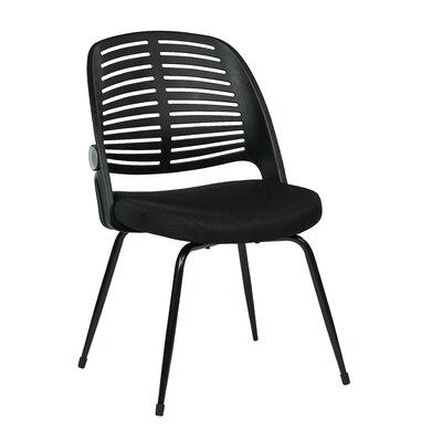 Tyler Armless Guest Chair Frame Color: Black