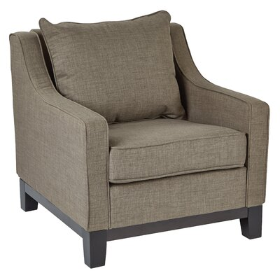 Regent Milford Fabric Club Chair Finish: Dolphin Product Picture 8287