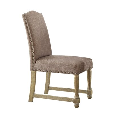 Kingman Parsons Side Chair Upholstery: Edward Chocolate