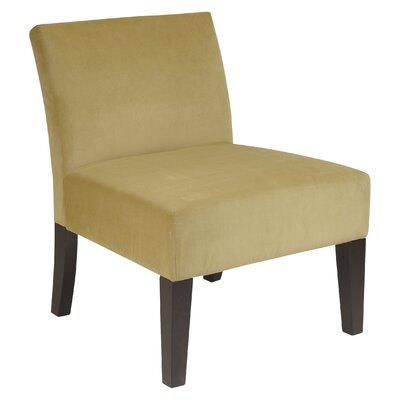 Laguna Upholstered Dining Chair Color: Brushed Basil