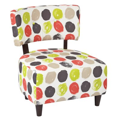 Boulevard Slipper Chair Upholstery: Poppy