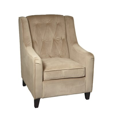 Curves Tufted Arm Chair Product Picture 8287