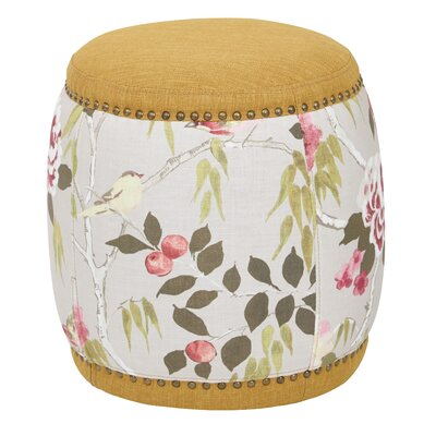 Briana Barrel Ottoman Upholstery: Nugget