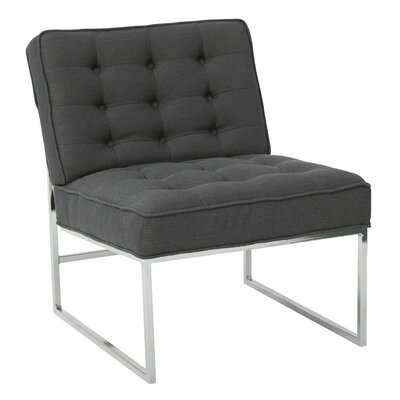 Anthony Slipper Chair Upholstery: Klein Charcoal Fabric