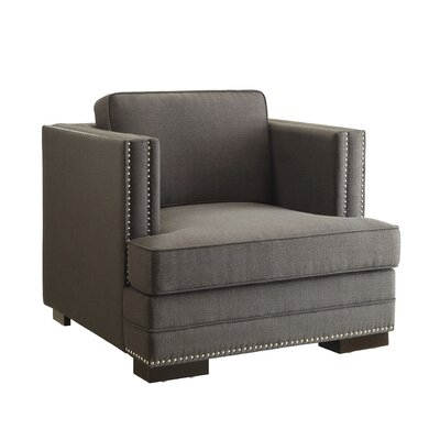Seaview Armchair Upholstery: Charcoal