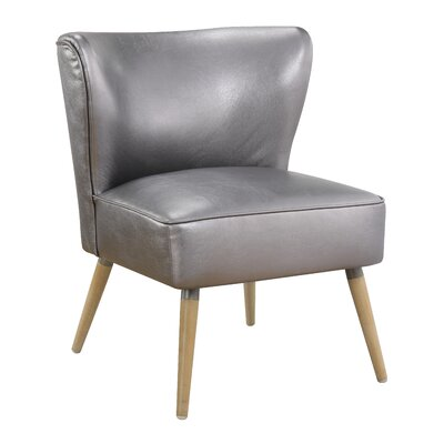 Nastya Solid Side Chair Upholstery: Sizzle Pewter