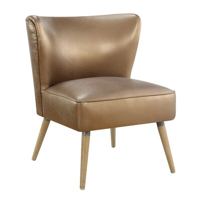 Amity Side Chair Color: Sizzle Copper