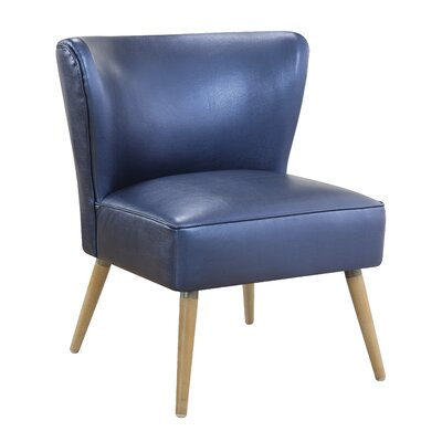 Amity Side Chair Color: Sizzle Azure